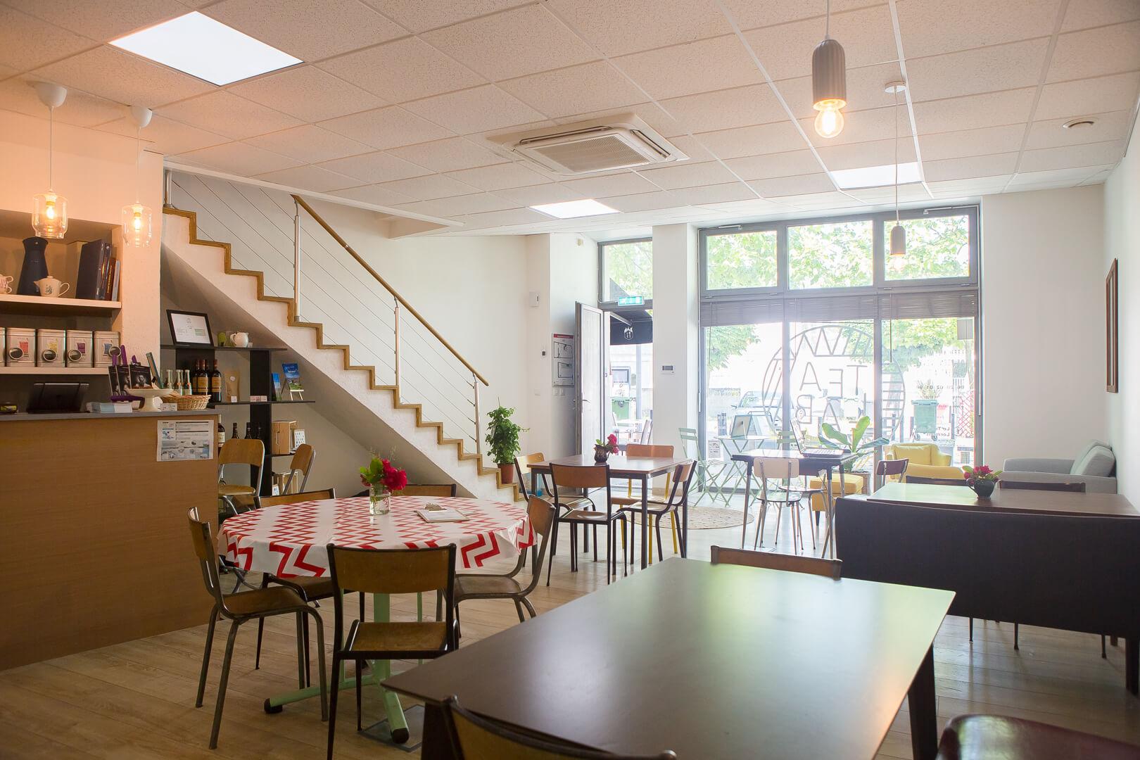 salle salon de thé Tea Lab