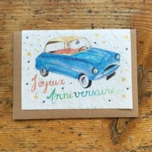 Carte à planter de Lulu Aquitaine Joyeux anniversaire