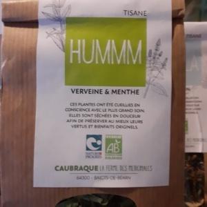 Tisane Humm Ferme de Caubraque Tea Lab