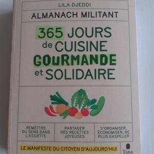 Livre 365 jours de cuisine gourmande et solidaire