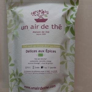Thé vert Un Air de thé Délices aux épices