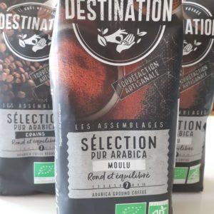 Café sélection pur Arabica moulu bio 500 g