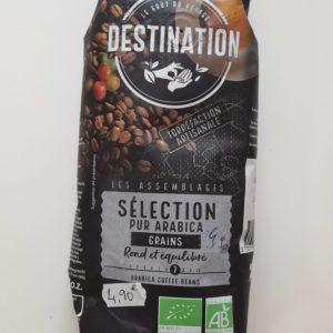 Café en grain bio Destination
