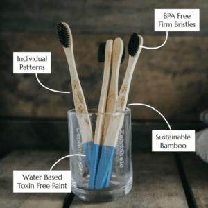 Brosses à dents adultes bambou 2