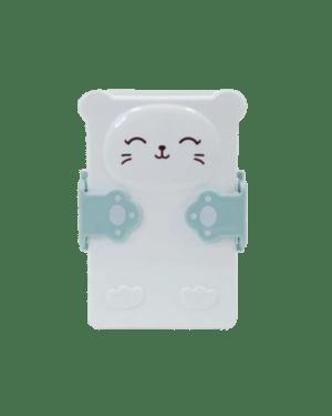 """Boîte à goûter """"chat bleu"""""""